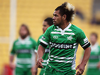 Manawatu's Tevita Taufui. Air NZ Cup - Wellington Lions v Manawatu Turbos at Westpac Stadium, Wellington, New Zealand. Saturday 3 October 2009. Photo: Dave Lintott / lintottphoto.co.nz