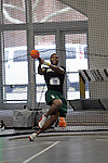 11 MAR 2011: Steven Kirk of Illinois Wesleyan throws during the the Division III Men's and Women's Indoor Track and Field Championships held at the Capital Center Fieldhouse on the Capital University campus in Columbus, OH.  Jay LaPrete/NCAA Photos