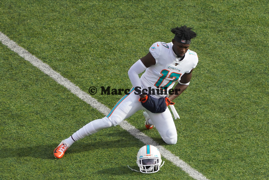 Wide receiver Allen Hurns (17) of the Miami Dolphins - 08.12.2019: New York Jets vs. Miami Dolphins, MetLife Stadium New York