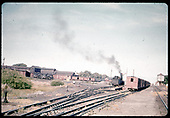 Alamosa yards east end with possibly D&amp;RGW #495 K-37.<br /> D&amp;RGW  Alamosa, CO  Taken by Chione, A. G.