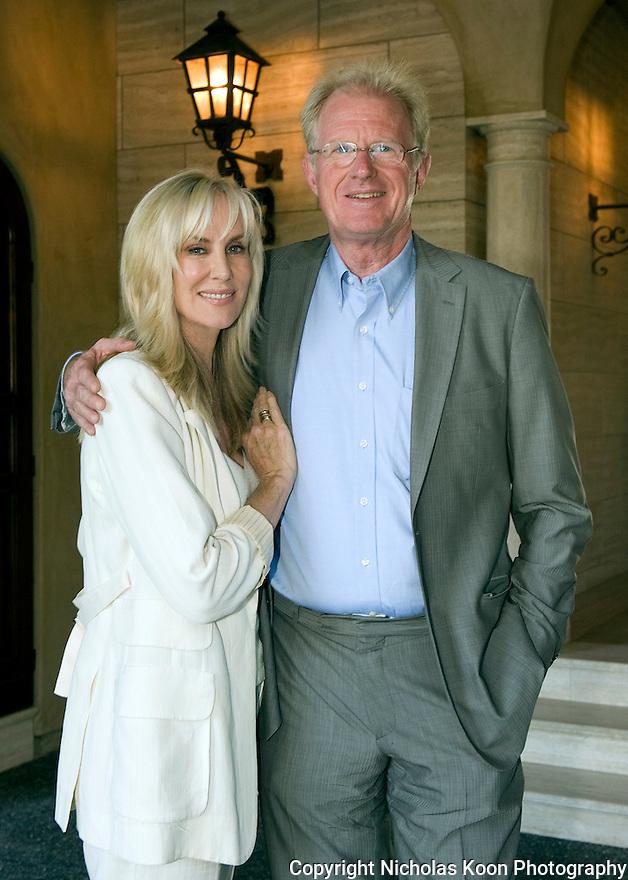 Ed Bagley and Rochelle Carson Bagley at an Oceana fundraiser in Laguna Beach on 7/29/12....