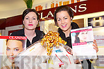 Cindy Walsh and Sarah Sullivan in CH Chemists, Tralee on Friday, promoting the Clairns Experience in conjunction with the Kerry Hospice is running from the 8th to the 12th of May. Customers can come in to CH for any skincare or beauty advice.