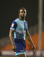 Marcus Bean of Wycombe Wanderers during the The Checkatrade Trophy match between Blackpool and Wycombe Wanderers at Bloomfield Road, Blackpool, England on 10 January 2017. Photo by Andy Rowland / PRiME Media Images.