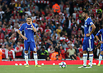 Chelsea's Nemanja Matic looks on dejected after going 2-0 down during the Premier League match at the Emirates Stadium, London. Picture date September 24th, 2016 Pic David Klein/Sportimage