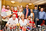Henry and Maura Harcksen from Tralee celebrating their 40th wedding anniversary with their family in the Brogue Inn on Friday night.<br /> Seated l-r, Henry and Maura Harckson, Grainne, Emma and Mike Kennedy.<br /> Back l-r, Lucy Kennedy, Steven O&rsquo;Callaghan, Danielle Harcksen,  Zara Kennedy, Alida Harcksen, Barbra and Aurelia O&rsquo;Callaghan, Liam O&rsquo;Dowd, Alannah Flood, Brian O&rsquo;Dowd and Mike Kennedy.