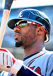 25 September 2010: Atlanta Braves outfielder Jason Heyward awaits his turn to bat against the Washington Nationals at Nationals Park in Washington, DC. The Braves shut out the Nationals 5-0 to even their 3-game series at one win apiece. The Braves' victory was the 2500th career win for skipper Bobby Cox. Cox will retire at the end of the 2010 season, crowning a 29-year managerial career. Mandatory Credit: Ed Wolfstein Photo