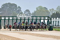 HOT SPRINGS, AR - APRIL 13:  Fantasy Stakes at Oaklawn Park on April 13, 2018 in Hot Springs, Arkansas. (Photo by Ted McClenning/Eclipse Sportswire/Getty Images)