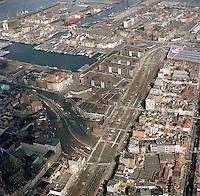 April 1987.  Eilandje in Antwerpen.