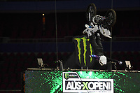 FMX / Pat Bowden<br /> Monster Energy Aus-XOpen<br /> Supercross &amp; FMX International<br /> Qudos Bank Arena, Olympic Park NSW<br /> Sydney AUS Sunday 12  November 2017. <br /> &copy; Sport the library / Jeff Crow
