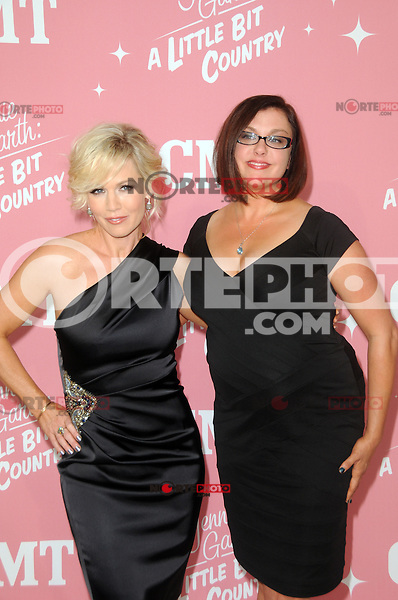 Jennie Garth and Corinne Dekker at Jennie Garth's 40th birthday celebration and premiere party for 'Jennie Garth: A Little Bit Country' at The London Hotel on April 19, 2012 in West Hollywood, California Credit: mpi35/MediaPunch Inc.
