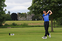 Jason Levermore (Little Channels Golf Centre) on the 7th tee during Round 1 of the Titleist &amp; Footjoy PGA Professional Championship at Luttrellstown Castle Golf &amp; Country Club on Tuesday 13th June 2017.<br /> Photo: Golffile / Thos Caffrey.<br /> <br /> All photo usage must carry mandatory copyright credit     (&copy; Golffile | Thos Caffrey)