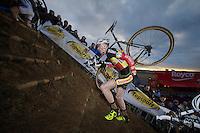 Klaas Vantornout (BEL) <br /> <br /> UCI Worldcup Heusden-Zolder Limburg 2013