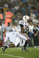 1 October 2006: Jason Evans during Stanford's 31-0 loss to UCLA at the Rose Bowl in Pasadena, CA.