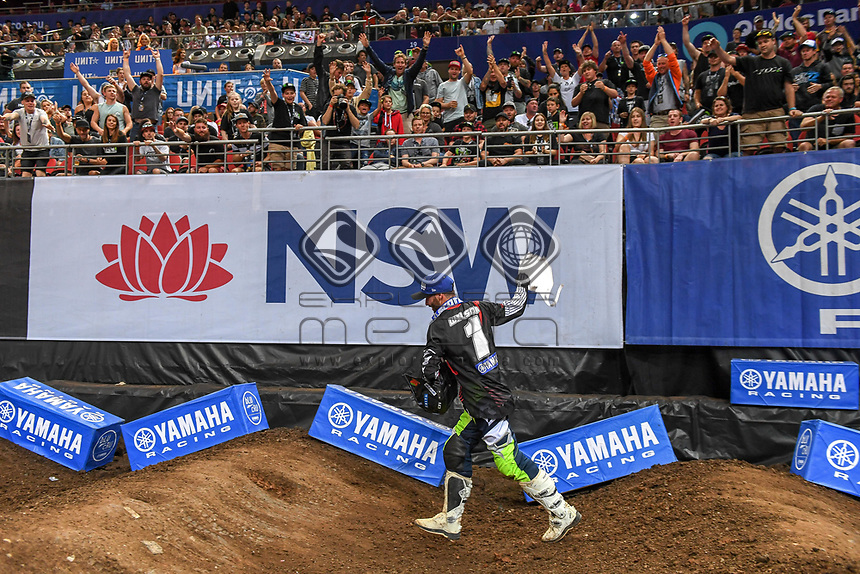 SX 2 / Jay Wilson 2018 Series Champion<br /> 2018 SX Open - Sydney <br /> Australian Supercross Championships<br /> Qudos Bank Area / Sydney Aus<br /> Saturday Nov 10th 2018<br /> © Sport the library/ Jeff Crow / AME