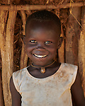 A child in the Kaya Refugee Camp in Maban County, South Sudan. Maban is host to four refugee camps that together shelter more than 130,000 refugees from the Blue Nile region of Sudan. Jesuit Refugee Service, with support from Misean Cara, provides educational and psycho-social services to both refugees in the camps and families in the host community.