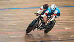 Lima, Peru -  26/August/2019 - Annie Bouchard and Evelyne Gagner compete in women's individual pursuit B in track cycling at the Parapan Am Games in Lima, Peru. Photo: Dave Holland/Canadian Paralympic Committee.