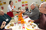 Thanksgiving Luncheon at Los Altos Senior Center