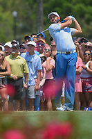 Sergio Garcia (ESP) watches his tee shot on 3 during round 1 of The Players Championship, TPC Sawgrass, at Ponte Vedra, Florida, USA. 5/10/2018.<br /> Picture: Golffile | Ken Murray<br /> <br /> <br /> All photo usage must carry mandatory copyright credit (&copy; Golffile | Ken Murray)