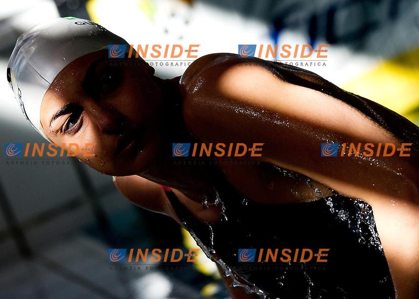 Michela Guzzettei, Esercito.100 rana donne.Campionati Italiani Assoluti Nuoto Primaverili.Riccione  9 - 13/04/2013.Day05 batterie.Photo Giorgio Scala/Deepbluemedia/Insidefoto