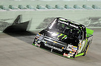 Nov. 20, 2009; Homestead, FL, USA; NASCAR Camping World Truck Series driver Ricky Carmichael during the Ford 200 at Homestead Miami Speedway. Mandatory Credit: Mark J. Rebilas-