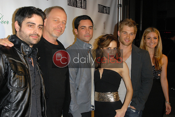 Brittany Murphy and cast<br />