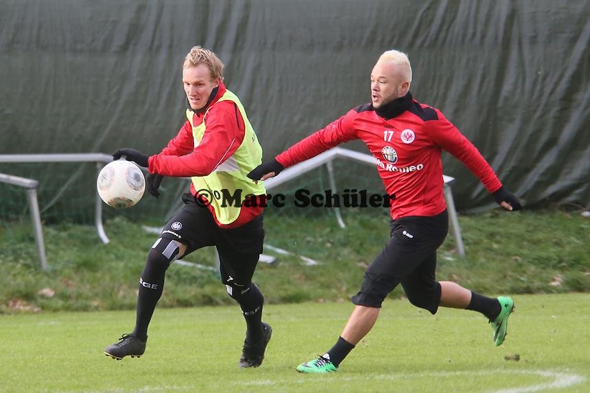 Jan Rosenthal gegen Stephan Schröck (Eintracht)