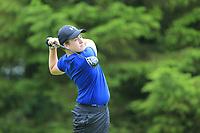 Luke Harrison (Co. Sligo) during the Connacht U14 Boys Amateur Open, Ballinasloe Golf Club, Ballinasloe, Galway,  Ireland. 10/07/2019<br /> Picture: Golffile | Fran Caffrey<br /> <br /> <br /> All photo usage must carry mandatory copyright credit (© Golffile | Fran Caffrey)
