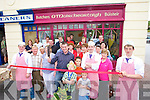 The official opening of Paudie.Moriarty's Butchers which.took place on Friday last.