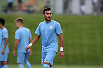 CARY, NC - SEPTEMBER 29: UNC's Andy Lopez. The University of North Carolina Tar Heels hosted the North Carolina State University Wolfpack on September 29, 2017 at Koka Booth Field at WakeMed Soccer Park in Cary, NC in a Division I college soccer game.