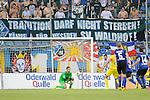 Waldhofs Markus Scholz (Nr.25) faengt den Ball im Spiel SV Waldhof Mannheim - TSG 1899 Hoffenheim II.<br /> <br /> Foto &copy; P-I-X.org *** Foto ist honorarpflichtig! *** Auf Anfrage in hoeherer Qualitaet/Aufloesung. Belegexemplar erbeten. Veroeffentlichung ausschliesslich fuer journalistisch-publizistische Zwecke. For editorial use only.