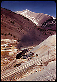 Monarch switchbacks - excursion train.<br /> D&amp;RGW  Monarch, CO