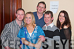 NEW YEARS BIRTHDAY: Ann Buckley, Listowel (2nd from right) ringing in the new year as she celebrated her 30th birthday in the Listowel Arms Hotel on Monday night.     Copyright Kerry's Eye 2008