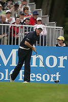 Rory McIlroy tees off from the first hole during the third round of the 2008 Irish Open at Adare Manor Golf Resort, Adare,Co.Limerick, Ireland 17th May 2008 (Photo by Eoin Clarke/GOLFFILE)