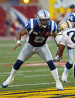 Anwar Stewart Montreal Alouettes. Photo F. Scott Grant