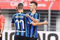 Mg Lugano (Svizzera) 14/07/2019 - amichevole/ Lugano-Inter / foto Matteo Gribaudi/Image Sport<br /> nella foto: esultanza gol Marcelo Brozovic