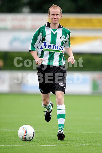 GENEMUIDEN -  presentatie selectie SC Genemuiden, topklasse zaterdag seizoen 2011-2012 25-06-2012 Arjen Netjes