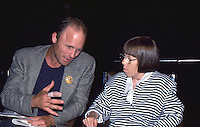 Ed Harris & Linda Hunt 1987 by Jonathan Green