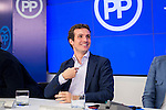 Politician Pablo Casado Blanco during the meeting of the National Executive Committee of the Partido Popular (PP) in Madrid, Spain, November 05, 2015. <br /> (ALTERPHOTOS/BorjaB.Hojas)