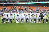 Washington, D.C.- May 29, 2014. Honduras National Team.  Turkey defeated Honduras 2-0 during an international friendly game at RFK Stadium.