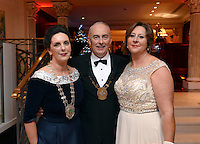 Pictured  at the IHF Ball in the Muckross Park Hotel at the weekend were in front, Kate O'Leary, President, Killarney Chamber of Tourism &amp; Commerce with Terence and Ailish Mulcahy, Chairman, Kerry Branch of the IHF.<br /> Photo: Don MacMonagle<br /> <br /> Repro free photo
