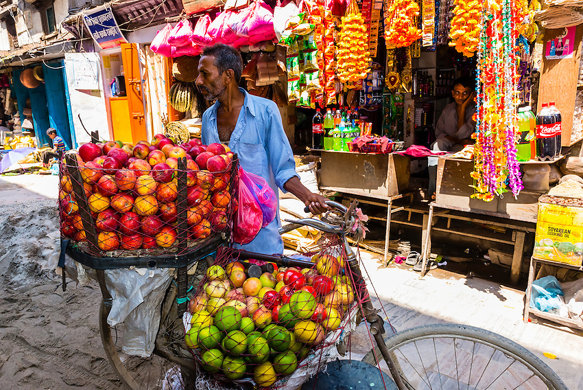 Street scene, Kathmandu, Nepal.