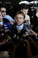 SAO PAULO, SP, 20 FEVEREIRO 2013 - JULGAMENTO- Gil Rugai.Advogado Marcelo Feler de Gil Rugai no Forum da Barra Funda(FOTO: ADRIANO LIMA / BRAZIL PHOTO PRESS).