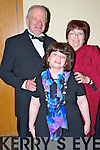 Don, Claire and Betty Rohan, Killarney, at the Kerry Stars Black Tie ball in The Malton Hotel, Killarney on Saturday night.