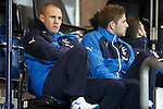 Kenny Miller watches from the stands