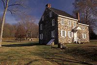 AJ3242, Brandywine River Valley, Washington's Headquarters, Brandywine Battlefield, Pennsylvania, Washington's Headquarters is an early 18th century stone house at Brandywine Battlefield Park in Chadds Ford in the state of Pennsylvania.
