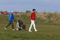 Harry Goddard (Hanbury Manor) on the 17th during Round 4 of the Lytham Trophy 2019, held at Royal Lytham & St. Anne's, Lytham, Lancashire, England. 05/05/19<br /> <br /> Picture: Thos Caffrey / Golffile<br /> <br /> All photos usage must carry mandatory copyright credit (© Golffile | Thos Caffrey)