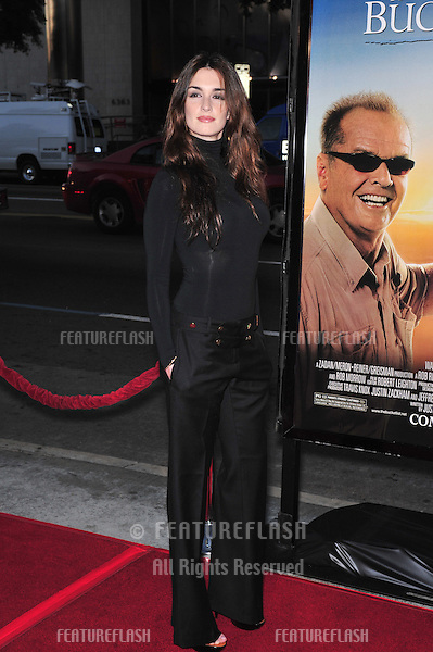 "Paz Vega at the Los Angeles premiere of ""The Bucket List"" at the Cinerama Dome, Hollywood..December 16, 2007  Los Angeles, CA.Picture: Paul Smith / Featureflash"