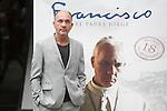 Argentinian actor Dario Grandinetti poses during `Francisco´ film presentation in Madrid, Spain. September 15, 2015. (ALTERPHOTOS/Victor Blanco)