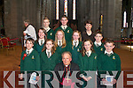 Pupils from Loreto NS who were Confirmed by Bishop Bill Murphy in St Mary's Cathedral on Friday   Copyright Kerry's Eye 2008