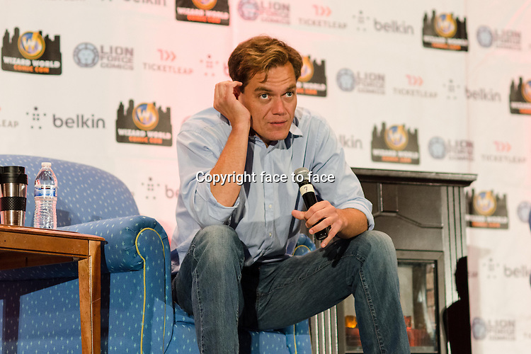 Michael Shannon appears at Wizard World Chicago Comic Con in Rosemont, Illinois, 10.08.2013.<br />